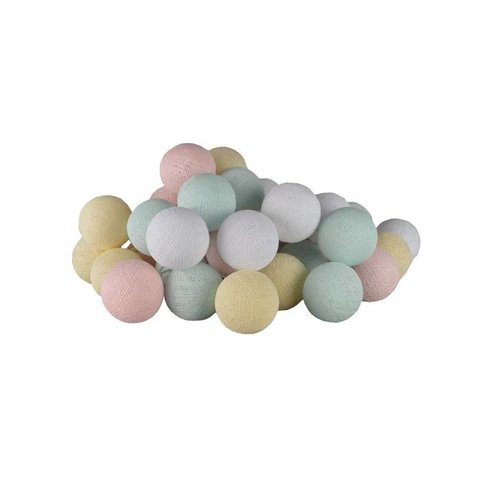 Cotton ball lights lichtslinger pastel