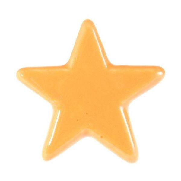La Finesse La Finesse kastknopje ster oranje