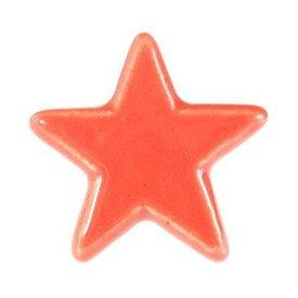 La Finesse La Finesse kastknopje ster rood