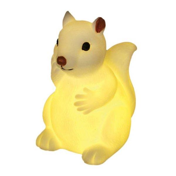 Dotcomgiftshop LED nachtlampje baby eekhoorn
