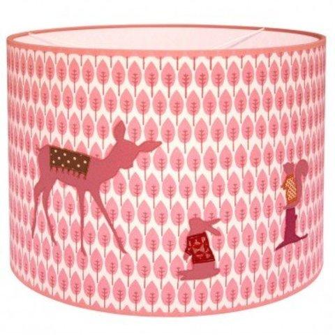 Taftan kinderlamp bambi roze