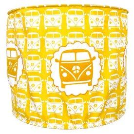 Taftan Taftan kinderlamp auto little van geel