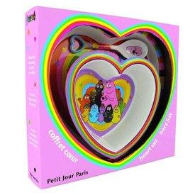 Petit Jour Paris Petit Jour Barbapapa kinderservies hartje
