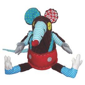 Les Déglingos Deglingos knuffel Ratos Funky