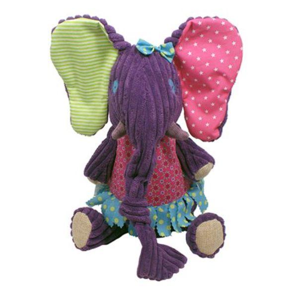 Les Déglingos Deglingos knuffel Sandykilos de olifant
