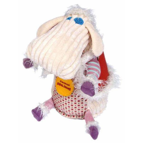 Les Déglingos Deglingos knuffel Polidos het schaap