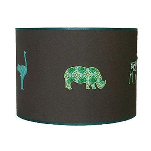 Taftan kinderlamp safari