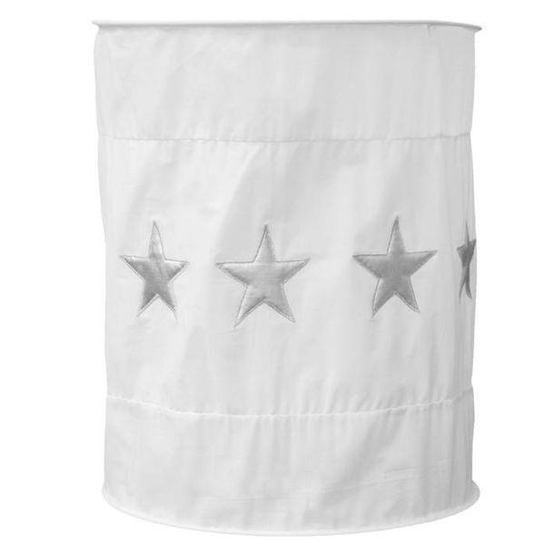Taftan Taftan kinderlamp wit silver stars