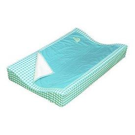 Taftan Taftan verschoonkussen hoes met dekentje turquoise
