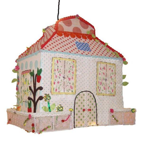 Taj Wood Scherer Taj Wood Scherer kinderlamp sprookjeshuis