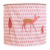 Taftan hanglamp bambi roze
