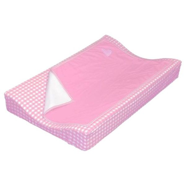 Taftan Taftan verschoonkussen hoes met dekentje roze