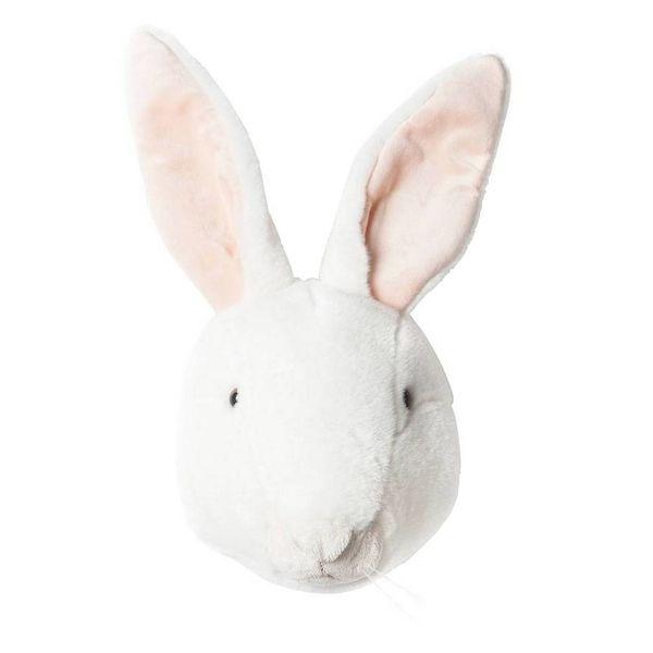 BiBiB BiBiB dierenkop konijn wit