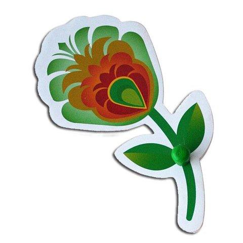 Pakhuis Oost kinderkapstok bloem