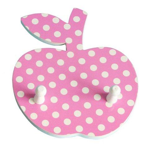Pakhuis Oost kapstok appel polkadots roze