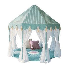 Wingreen Company Wingreen speeltent pavillon blauw groen