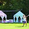 Wingreen speeltent pavilion blauw groen