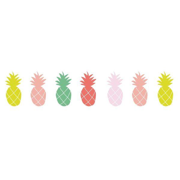 Mimi'lou Mimilou muursticker ananas mulitkeur