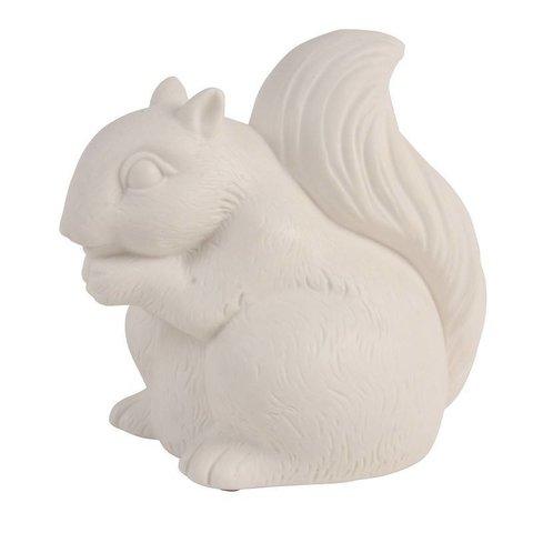 Nachtlampje eekhoorn wit groot