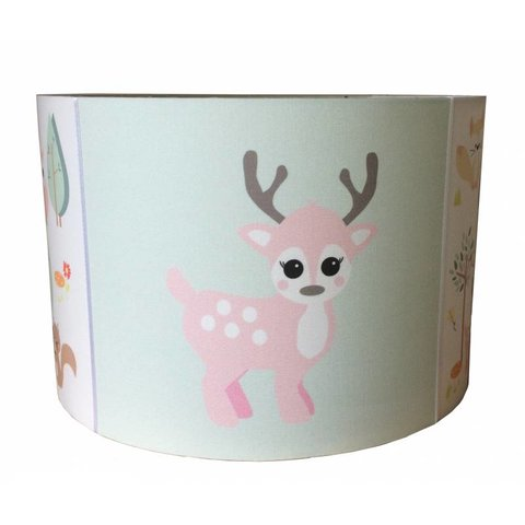 Designed4Kids kinderlamp forest friends hertje pastel