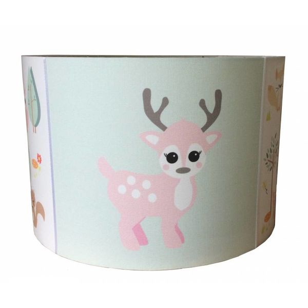 Designed4Kids Designed4Kids kinderlamp hert forest friends hertje pastel