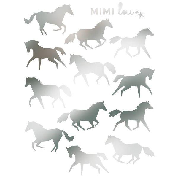 Mimi'lou Mimilou muursticker paarden mini