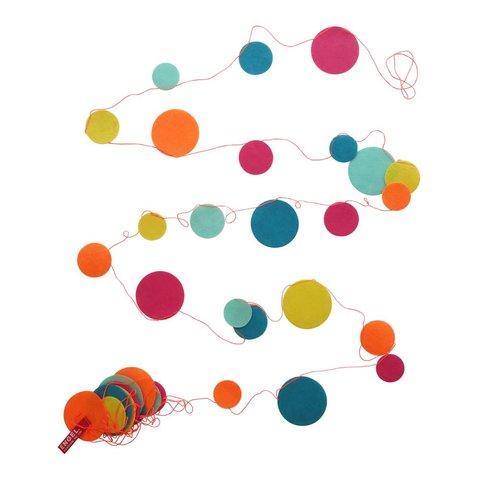 Engelpunt feestslinger confetti kleur