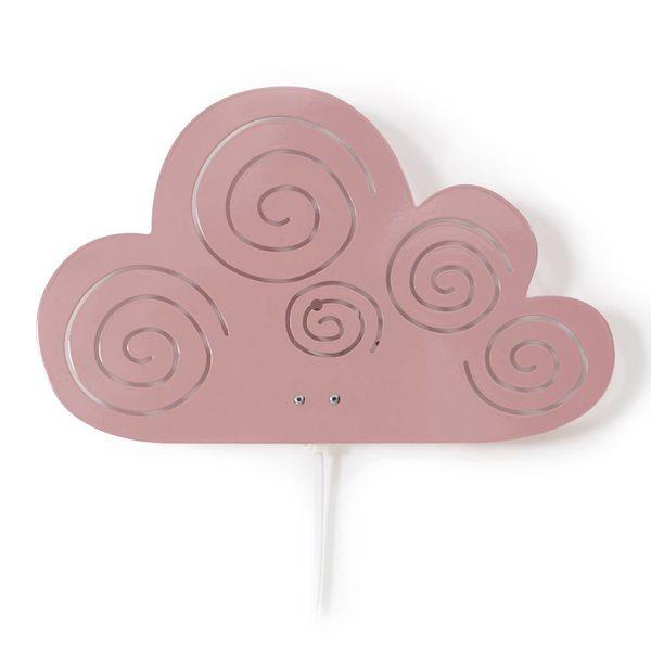 Roommate Roommate wandlamp kinderkamer wolk roze