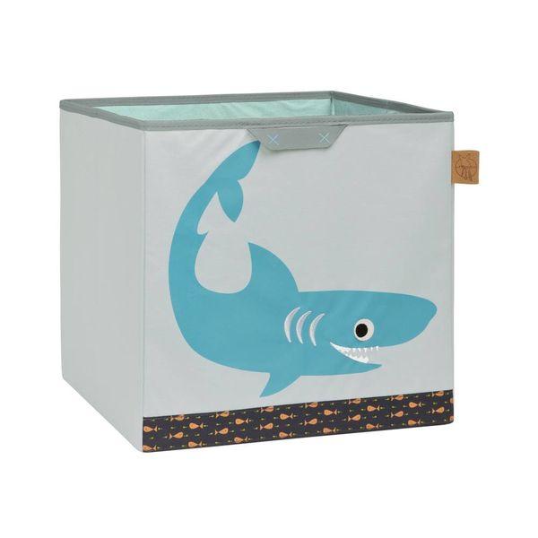 Lässig Lässig opbergmand kinderkamer haai