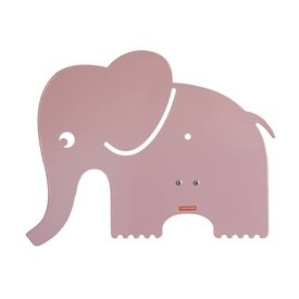 Roommate Roommate wandlamp olifant pastel roze