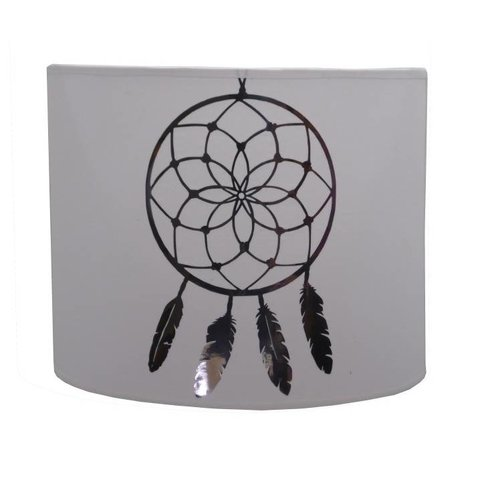 Juul Design wandlamp Dream Catcher wit