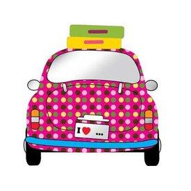 Kidslab Kidslab spiegel auto meisje