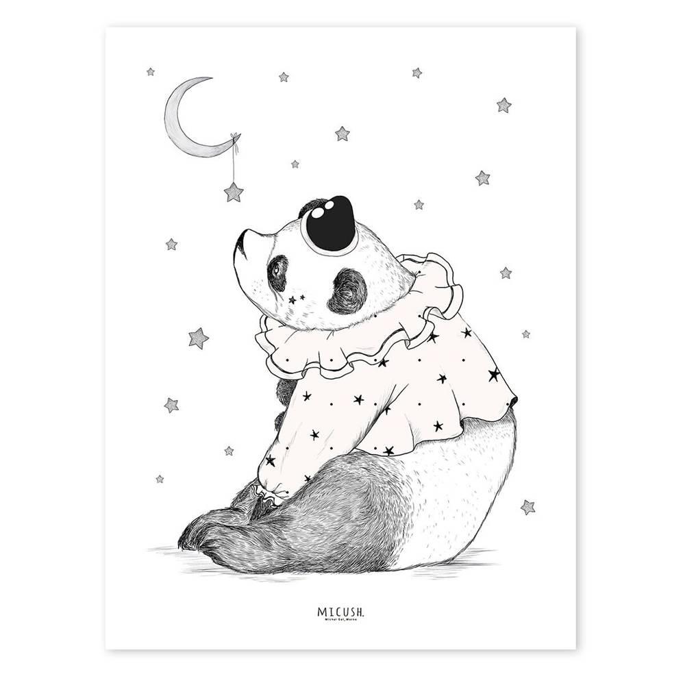 lilipinso kinderposter panda beer circus kidzsupplies. Black Bedroom Furniture Sets. Home Design Ideas