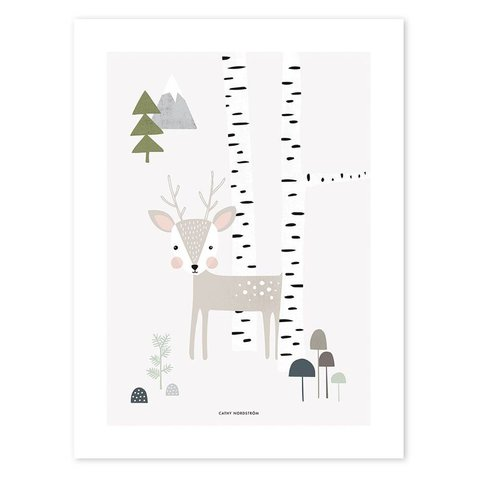 Lilipinso poster woodland hertje