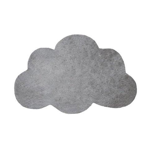 Lilipinso kindervloerkleed wolk grijs