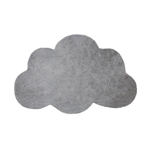 Lilipinso Lilipinso kindervloerkleed wolk grijs