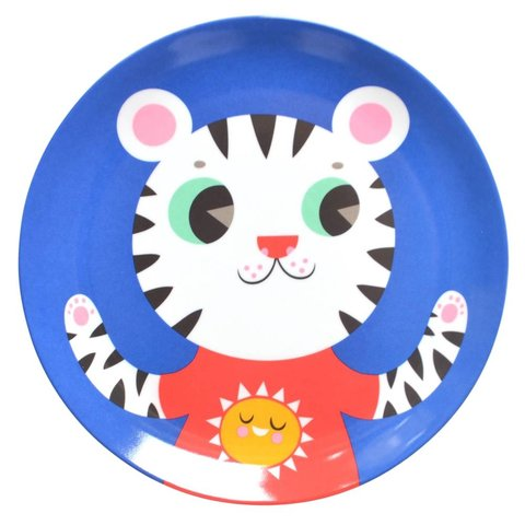 Petit Monkey melamine bord tijger