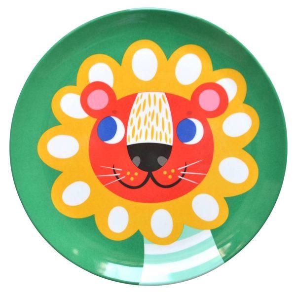 Petit Monkey Petit Monkey melamine bord leeuw