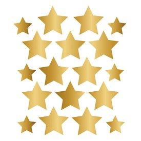 Nouvelles Images Nouvelles Images muursticker sterren goud