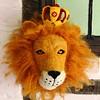 Sew Heart Felt dierenkop leeuw Prince Leopold