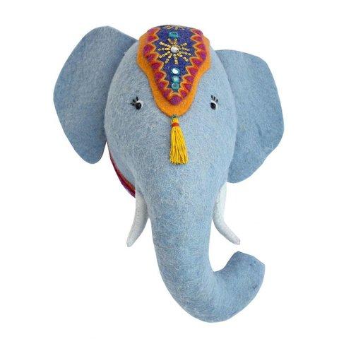 Sew Heart Felt dierenkop leeuw olifant Jumbo