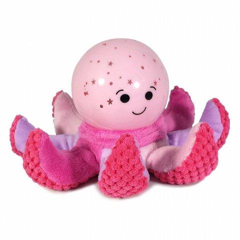 Cloud b nachtlampje octopus Softeez roze