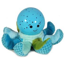 cloud b Cloud b nachtlampje octopus Softeez blauw