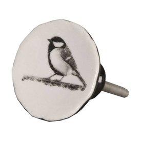 Clayre & Eef Deurknopje vogel vintage