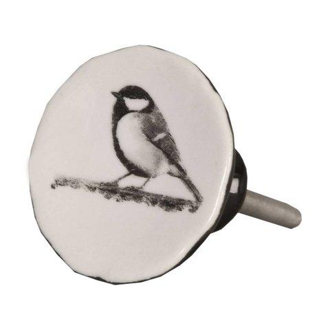 Deurknopje vogel vintage