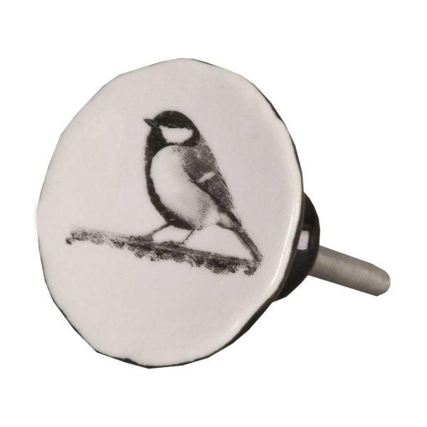 Clayre & Eef Clayre & Eef deurknopje vogel vintage