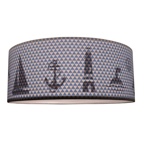 Juul Design plafonniere Nautic blauw