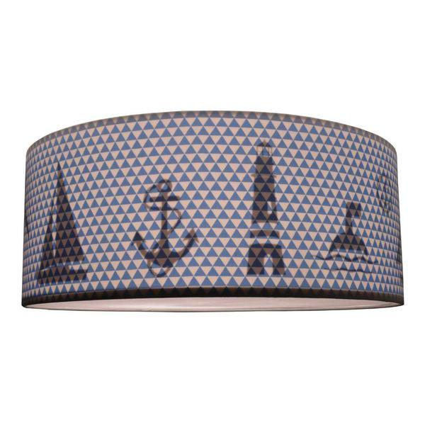 Juul Design Juul Design plafonniere nautic blauw