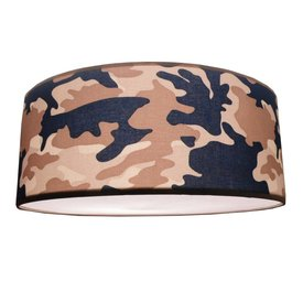 Juul Design Juul Design plafonniere army blauw
