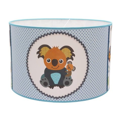 Juul Design kinderlamp koala beer blauw